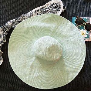 American Apparel mint California Floppy Hat